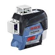 Bosch Linienlaser GLL 3-80 C Professional (inkl. Zubehör, L-BOXX, 1x 2Ah, Ladegerät)