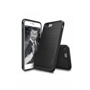 Husa Protectie Spate Ringke Onyx Black plus folie protectie display pentru Apple iPhone 7 Plus
