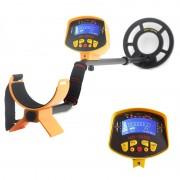 Treasure Hunter - Detecteur de metal / Bobine 8,2 pouces etanche / Ecran LCD / Detecte tous les metaux / Tige ajustable