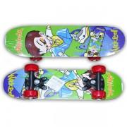 Placa skateboard din lemn pentru copii, 60x15 cm