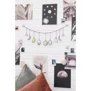 Urban Outfitters Guirlande en vitrail phases de la lune- taille: ALL