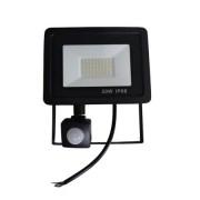 Proiector LED cu senzor de miscare, 20W , 1800lm 6500K IP66