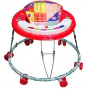 Talcoo Musical Baby walker-Red
