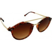 ELS Oval Sunglasses(Brown)