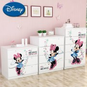 Comoda copii sertare late Minnie Mouse