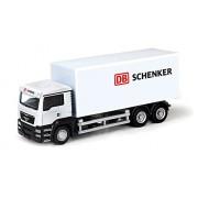 RMZ City Car 1:64 Scale Man DB Schenker Truck, White