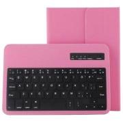 Universele Tablet Bluetooth Toetsenbord & Leren Tas 7-8 - Roze