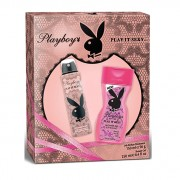 Set Cadou Playboy Play It Sexy Deodorant Spray 150 ml + Gel de dus 250 ml