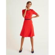 Boden Rot Maria Ponte-Kleid Damen Boden, 42 L, Red