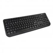 Tastatura Serioux SRXK-9400 USB Black Layout Limba Romana