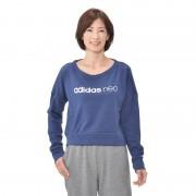 アディダス 杢 裏毛クルーネックスウェット【QVC】40代・50代レディースファッション