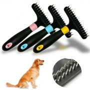 Pet Dog Short Long Thick Hair Fur Shedding Remove Cat Grooming Rake Brush Comb