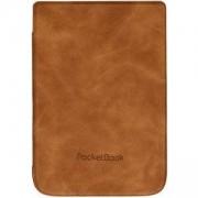 Калъф за eBook четец PocketBook WPUC-627-S-LB за Touch Lux 4 и Basic Lux 2, Кафяв, PBC627SLB