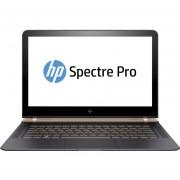 Notebook HP Spectre Pro 13 G1, Intel Core i5, Windows 10 Pro, RAM 8 GB, DD 256 GB de 13.3''-Negro