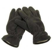 Max Fuchs Fleece Fingervantar med Thinsulatefoder (Färg: Olive Green, Storlek: L)