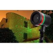 Proiector laser durabil pentru interior si exterior cu 2 culori