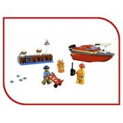 Lego Конструктор Lego City Пожар в порту 97 дет. 60213
