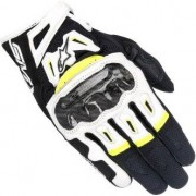 Alpinestars Smx-2 Air Carbon V2 Black / White / Yellow Fluo