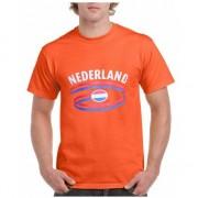 Bellatio Decorations Oranje Nederland t-shirt unisex