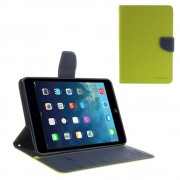 Mercury Pouzdro / kryt pro Apple iPad mini 1 / 2 / 3 - Mercury, Fancy Diary Lime/Navy
