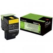 Lexmark 70C2XY0 - 702XY toner amarillo