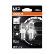 Osram 7556CW LED BA15s (P21W) autó izzó, duó csomag