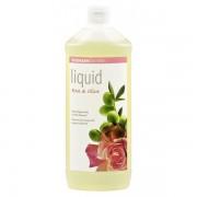 Sapun lichid gel de dus ecologic Trandafiri Masline 1L