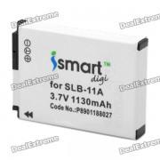 Reemplazo ismart digi Bateria SLB-11A 1130mah para Samsung EX1 / TL-320 / WB100 / WB5000 y mas