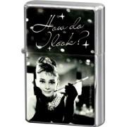 Bricheta metalica - Audrey Hepburn