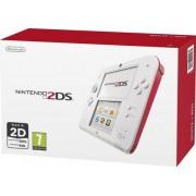 Consola Nintendo 2DS alb / rosu