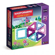 Magformers Inspire Set for Girls, Multi Color (14 Pieces)