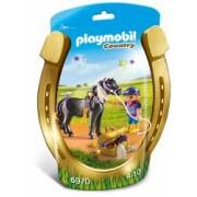 Set figurine - Ingrijitor cu ponei si stelute pentru copii de minim 4 ani