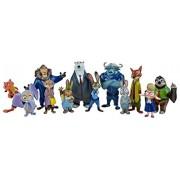 Zootopia Deluxe Figures Mystery Mini Action Figure Movie Pvc Models 4-8cm Set of 12 pcs Nick Fox Judy Rabbit Dolls.