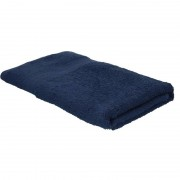 Jassz Voordelige badhanddoek navy blauw 70 x 140 cm 420 grams - Badhanddoek