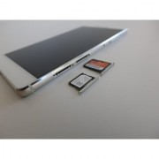 SIM Card Holder Sim Tray Memory Card Tray for Huawei P8 Lite P-8 Lite P 8 Lite Grey Colour