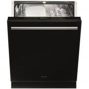 Masina de spalat vase Gorenje Simplicity GV6SY2B, Incorporabila, 12 Seturi, 6 Programe, Clasa A+, Usa cu panel sticla neagra