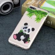 Panda Patron Transparente TPU Caso Suave Para Huawei Y7 2018