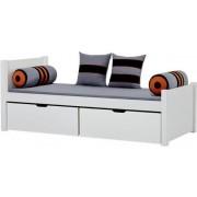 Hoppekids Deluxe säng med lådor 90 x 200 cm - Hoppekids Skater Säng 102733