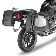 Kappa Portavaligie Laterale A Rimozione Rapida Specifico Per Valigie Monokey Klr6403 Triumph Tiger Explorer 1200 Dal 2012 Al 2015