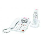 Alcatel Versatis XL650 Combo Voice - Filaire/sans fil - système de répondeur avec ID d'appelant/appel en instance - DECT + combiné supplémentaire