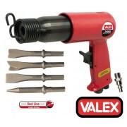 Martello/Scalpellatore/Scalpello ad aria compressa/pneumatico con 4 punte Valex - 1552010