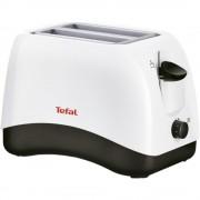 Prajitor de paine Tefal Delfini TT1301, 850 W, 2 felii, Alb