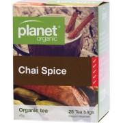 Organic Tea Bags - Chai Spice x25