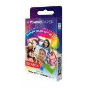 Focus Polaroid Instant Zink Media 5,1x7,6 cm Rainbow - 20 Kort