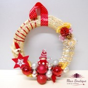 "Coronita Craciun ""Christmas In Red"""