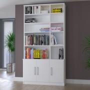 Estante De Livros Foscarini 3 Portas 1280 Branco