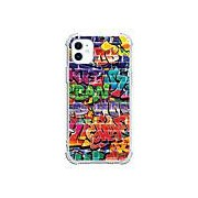 Graffiti Cas Pour Apple iPhone 12 iPhone 12 Mini iPhone 12 Pro Max Design unique Antichoc Coque TPU