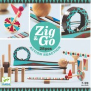 Zig and and Go Djeco set de constructie trasee 28 piese
