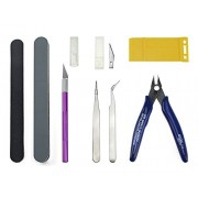 BXQINLENX 8 PCS Gundam Modeler Basic Tools Craft Set For Car Model Assemble Building(D)
