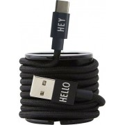 Design Letters Kabel USB-C Design Letters czarny